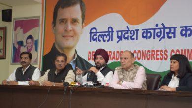 Photo of सरकार की नीति और नियत दोनो में खोट है,  दिल्ली की चरमराई परिवहन व्यवस्था के लिए केजरीवाल सरकार जिम्मेदार- अरविन्दर सिंह लवली