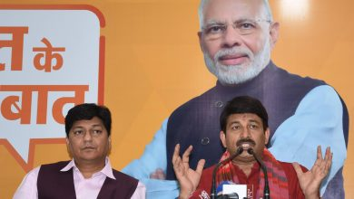Photo of Manoj Tiwari, Nityanand Rai and Tarun Chugh address meetings to apprise the people ablout Pradhanmantri Uday Yojana
